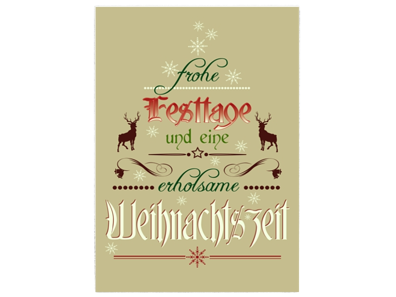 Shabby Vintage Wandtafel Schild Holzschild Frohe Festtage