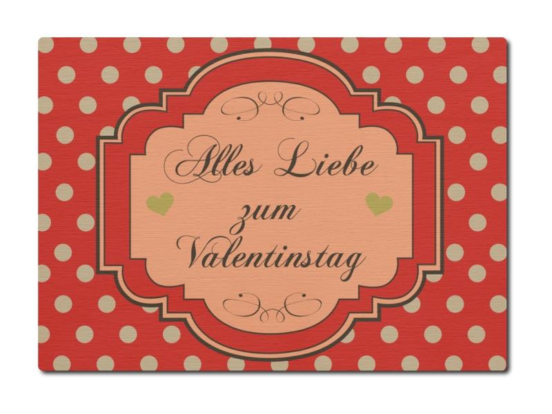 luxecards postkarte aus holz alles liebe zum valentinstag geschenk sp. Black Bedroom Furniture Sets. Home Design Ideas