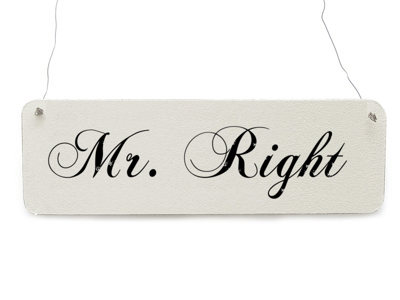 how to know mr right
