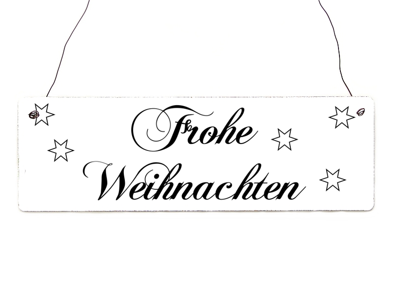 shabby vintage schild t rschild frohe weihnachten 1. Black Bedroom Furniture Sets. Home Design Ideas