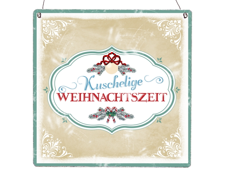 xl shabby vintage schild dekoschild kuschelige weihnachtszeit weihnac. Black Bedroom Furniture Sets. Home Design Ideas