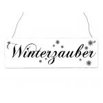 Shabby vintage schild t rschild frohe weihnachten rot gr n - Dekoration winterzauber ...