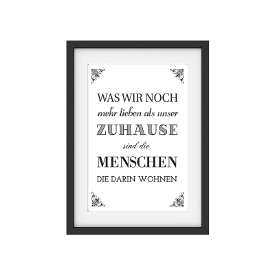 druck poster kunstdruck was wir noch mehr lieben 2 motivation print d. Black Bedroom Furniture Sets. Home Design Ideas