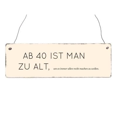 Single mann ab 40