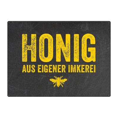 Honig Aus Eigener Imkerei : interluxe wandschild shabby blechschild honig aus eigener imkerei sc ~ Whattoseeinmadrid.com Haus und Dekorationen