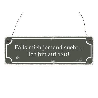 shabby vintage schild t r falls mich jemand sucht ich bin auf 1. Black Bedroom Furniture Sets. Home Design Ideas
