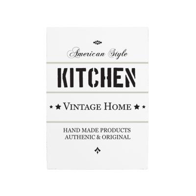 wandtafel schild american style shabby vintage dekoschild holzschild. Black Bedroom Furniture Sets. Home Design Ideas