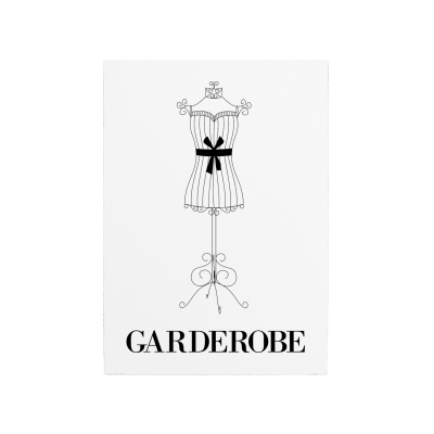 wandtafel schild garderobe vintage shabby dekoration flur garderobe. Black Bedroom Furniture Sets. Home Design Ideas