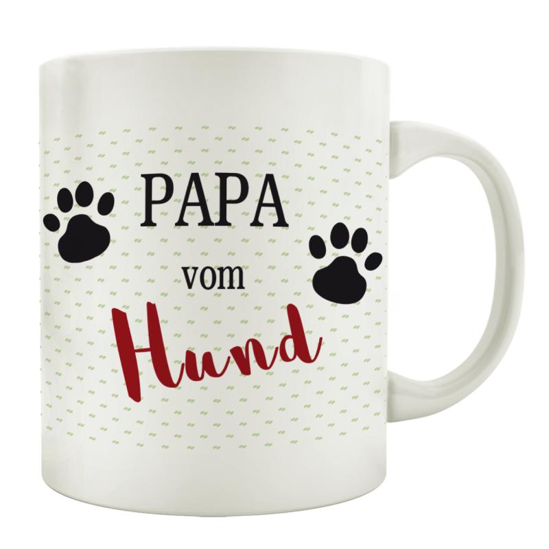 INTERLUXE Holzschild BESTER HUNDEPAPA Tierisch Mann Geschenk Haustier Türschild