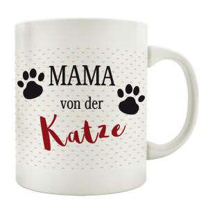 TASSE Kaffeebecher MAMA VON DER KATZE Tierisch Frau...