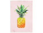 WANDTAFEL Holzschild ANANAS PINEAPPLE PINK Sommer...
