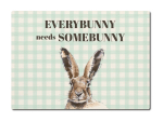 LUXECARDS Shabby POSTKARTE aus Holz EVERYBUNNY NEEDS...