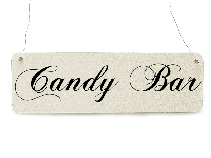 shabby vintage schild candy bar hochzeit dekoschild bonbon 9 99 eur. Black Bedroom Furniture Sets. Home Design Ideas