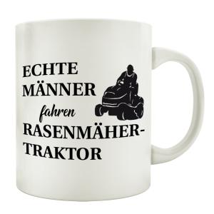 TASSE Kaffeebecher ECHTE MÄNNER FAHREN...