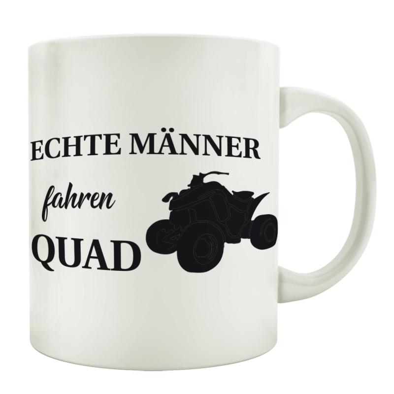 Tasse Kaffeebecher Echte Manner Fahren Quad Geschenk Geburtstag