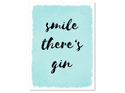 8 Magnete 95x70mm SMILE THERES GIN