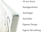 WANDTAFEL Holzschild DONT BE LIKE THE REST Coco Chanel...
