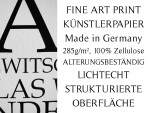 INTERLUXE Kunstdruck DONT BE LIKE THE REST Coco Chanel...
