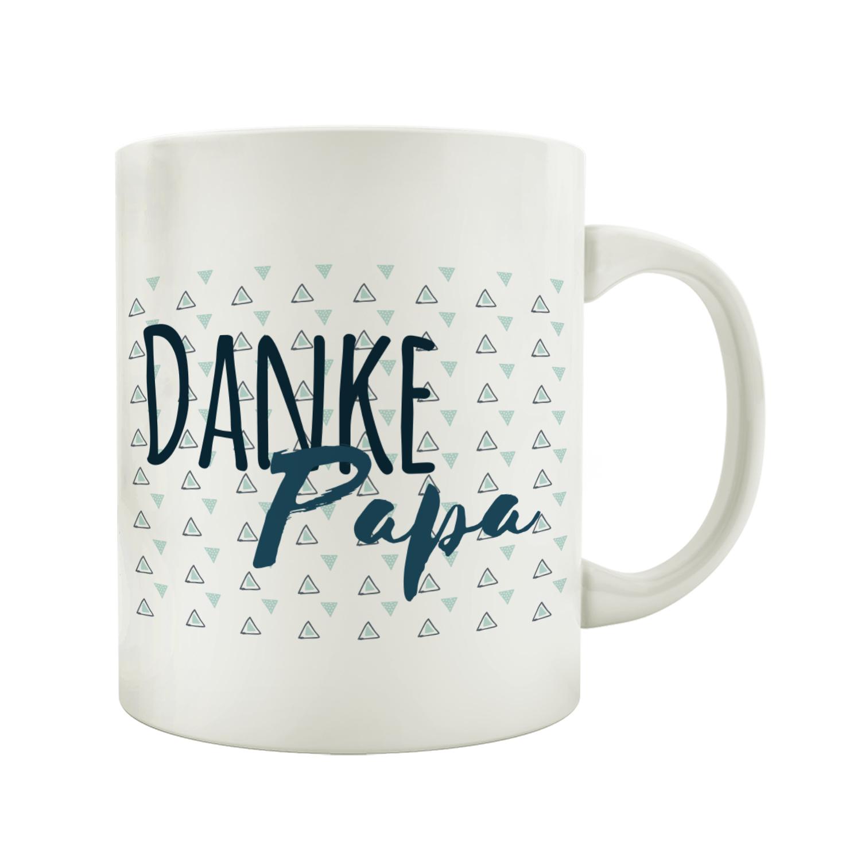 Becher Kaffeebecher best dad bester vater papa spruch Porzellan   Vatertag Tasse