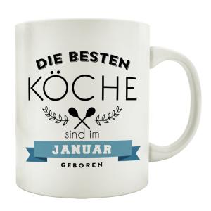 TASSE Kaffeebecher DIE BESTEN KÖCHE Koch...