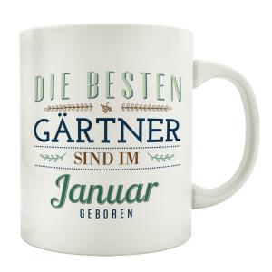 TASSE Kaffeebecher DIE BESTEN GÄRTNER Gärtnerei...