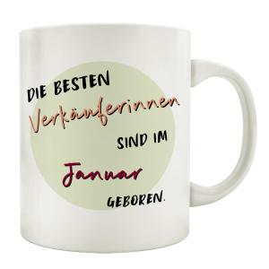 TASSE Kaffeebecher DIE BESTEN VERKÄUFERINNEN...