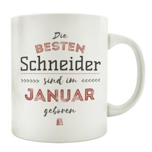 TASSE Kaffeebecher DIE BESTEN SCHNEIDER Designer...