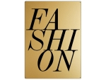 30x22cm GOLD Wandschild FASHION Mode Blogger LIFE...