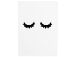 WANDTAFEL Holzschild WIMPERN LASHES Blogger Beauty...