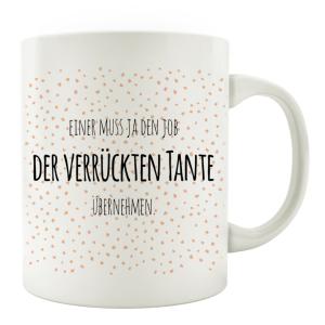 TASSE Kaffeebecher EINER MUSS JA DEN JOB DER...