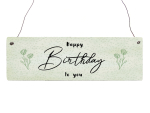 Holzschild Shabby HAPPY BIRTHDAY TO YOU Geburtstag...