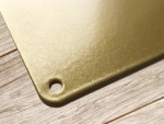 30x22cm GOLD Wandschild PLOP! ITS CHAMPAGNE OCLOCK Gold...