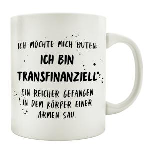 TASSE Kaffeetasse mit Spruch ICH MÖCHTE MICH OUTEN...