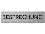 Interluxe Türschild BESPRECHUNG 200x50x3mm,...