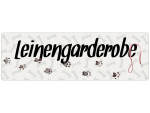 Interluxe Metallschild - Leinengarderobe - dekoratives...