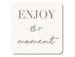 Interluxe LED Untersetzer - Enjoy the moment -...