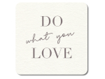 Interluxe LED Untersetzer - DO what you LOVE -...