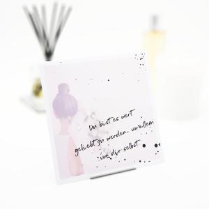 Interluxe Duftbeutel - Du bist es wert geliebt zu werden...