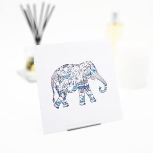 Interluxe Duftsachet - Elefant Doodle - Deko-Duftsäckchen in vielen Duftsorten