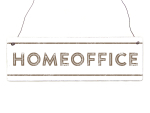 Interluxe Holzschild - Homeoffice Country -...