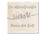 Interluxe Metallschild 20x20cm - Die aller aller...