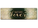 Interluxe Metallschild - Nature lover - Schild als...