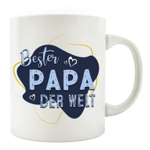 TASSE Kaffeebecher - Bester PAPA der Welt -...