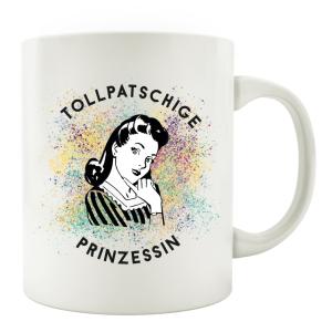 TASSE Kaffeebecher - Tollpatschige Prinzessin -...