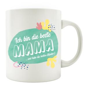 TASSE Kaffeebecher - Ich bin die beste Mama und habe die...
