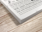 Interluxe Holzschild Wandtafel 280x200mm - Stay positive...