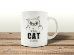 TASSE Kaffeebecher - My life is a CATastrophe -...