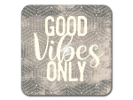 Interluxe LED Untersetzer - Good vibes only punkte -...