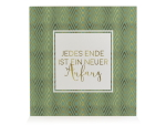 HOLZBLOCK Shabby - Jedes Ende ist ein neuer Anfang -...