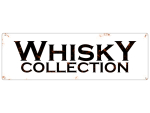 METALLSCHILD Blechschild Dekoschild WHISKY COLLECTION Bar...